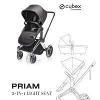 Cybex Kinderwagen PRIAM Gestell: Chrome Radset: Trekking 2in1-Sitz: Manhattan Grey