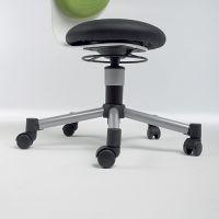 Orgoo Fit Schreibtischstuhl ROLLENSATZ für harte Fußböden