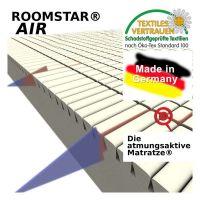 ROOMSTAR Matratze / Jugend- und Kindermatratze AIR, Kaltschaum, 90x200cm