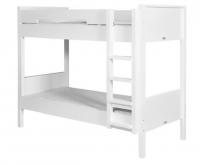 BOPITA Etagenbett Seppe  90x200cm, Höhe: 190cm, umbaubar, weiß
