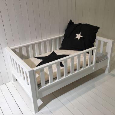 ROOMSTAR® Juniorbett, Zwischengröße 90x160cm, inkl. Umbausatz 90x200cm, weiss