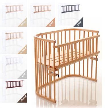 Verschlussgitter / Rausfallschutz für Zwillings-Anstellbett MAXI von Babybay