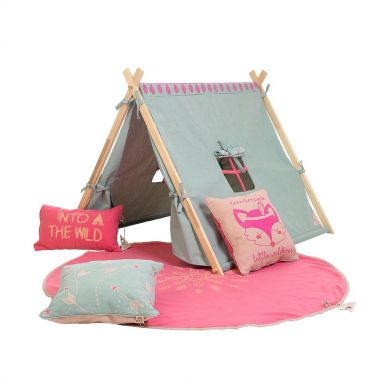 Lifetime WILD CHILD Spielzelt / Tipi, aqua-pink