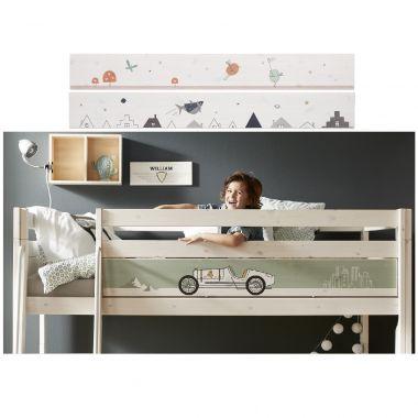LIFETIME Dekorblende/ Rausfallschutz für Betten