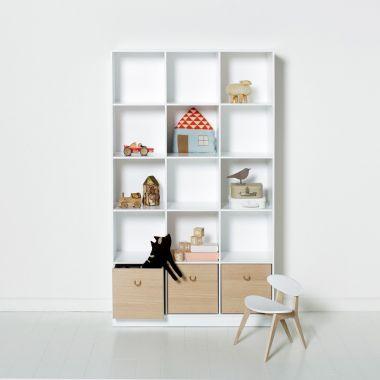Oliver Furniture Regal WOOD COLLECTION, vertikal, 3x5 Fächer