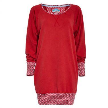 PIP Studio HOMEWEAR Sweater THESSA, rot, GRÖßE: M