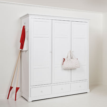 Oliver Furniture Kinderschrank / Kleiderschrank KIDS II, 3-türig, H: 195cm