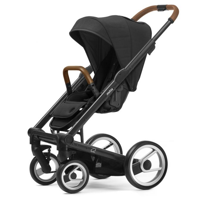 MUTSY Kombi-Kinderwagen i2 HERITAGE 2018, ab der Geburt, Gestell Black