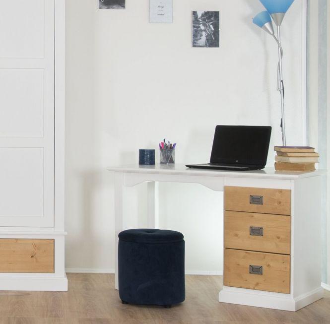 Smart Line Schreibtisch mit drei Schubläden - in 2 Farbvarianten
