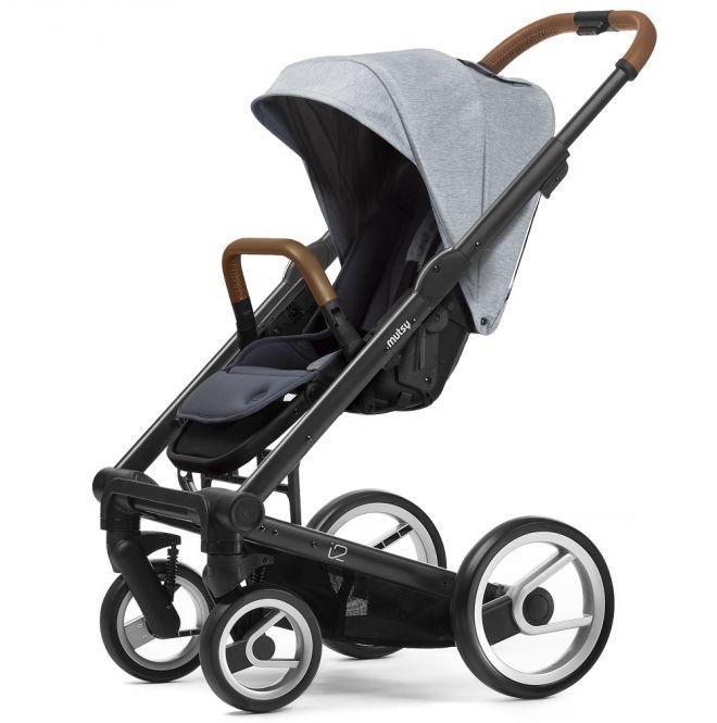 MUTSY Kombi-Kinderwagen i2 PURE 2018, ab der Geburt, Gestell Black