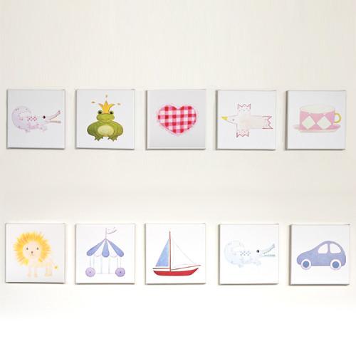 Kinderzimmer Bilder / Bild LIBERTY, 20x20cm