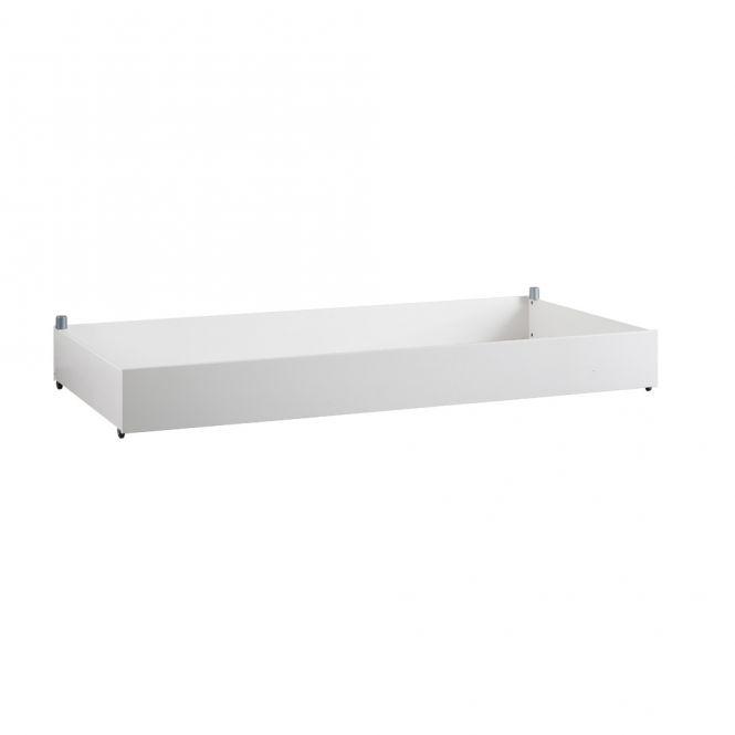 LIFETIME Bettkasten / Bettschublade, weiß lackiert, Holz, astfreie Kiefer, 120x200cm