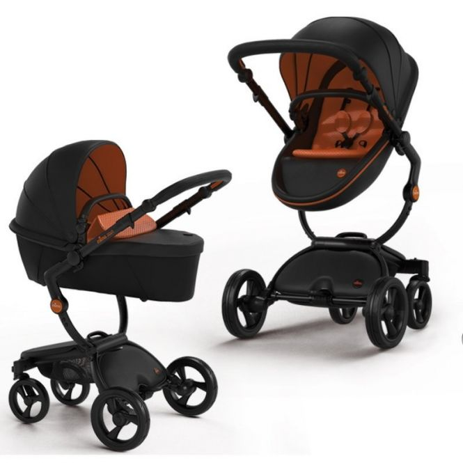 MIMA XARI REBEL Komplett-Kinderwagen Limited Edition, Gestell BLACK