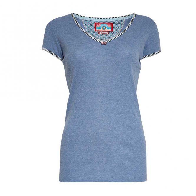 PIP Studio HOMEWEAR Top / Shirt TOY AJOUR, blau