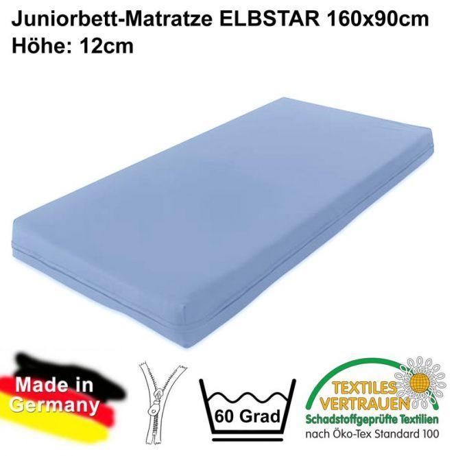 Juniorbett Matratze ELBSTAR, 90 x 160 cm, Höhe: 12cm
