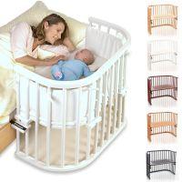 Babybay Anstellbett / Beistellbett ORIGINAL, Liegefläche extrabelüftet