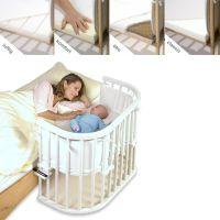 Matratze für Zwillings-Anstellbett MAXI von Babybay
