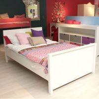 Bopita Jugendbett MIX & MATCH Bett für Teens, weiß, 120x200cm