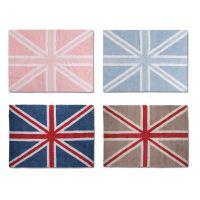 Lorena Canals Kinderteppich FLAG ENGLAND, versch. Farben und Größen, 100% Baumwolle