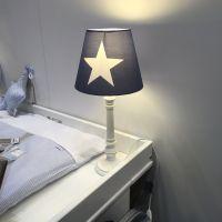 Tischlampe / Tischleuchte / Kinderlampe ROOMSTAR, Stern, blau