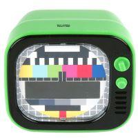 Kinderwecker / Wecker TV LED, grün