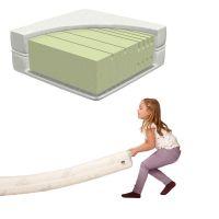 Matratze / Kindermatratze LIFETIME, 5-Zonen Komfortschaum, 90x200cm