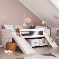 "LIFETIME Kinderbett mit Rutsche ""CLIMB AND SLIDE, 90x200cm"