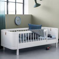 Oliver Furniture WOOD MINI+ Juniorbett weiss, Liegefläche 68x162cm