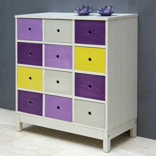 aufbewahrungsregal denise holz mdf 8 bunte schubf cher dannenfelser kinderm bel. Black Bedroom Furniture Sets. Home Design Ideas