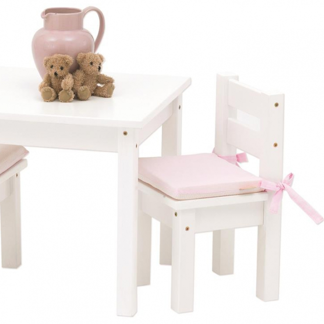 kinderstuhl mads holz wei lackiert 24x24x50cm dannenfelser. Black Bedroom Furniture Sets. Home Design Ideas