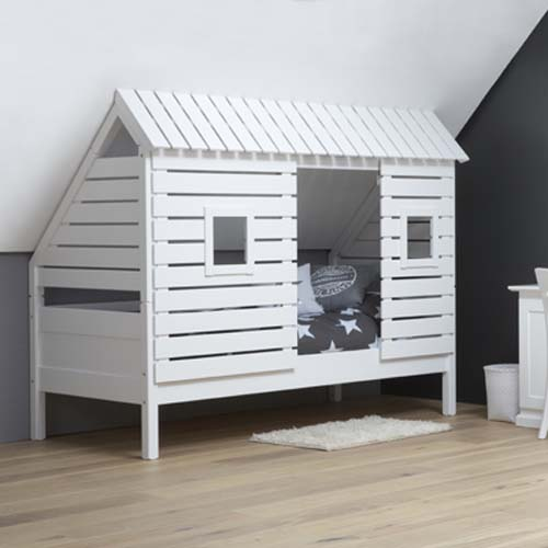 spielbett kinderbett roofus f r schr ge w nde dachschr gen. Black Bedroom Furniture Sets. Home Design Ideas