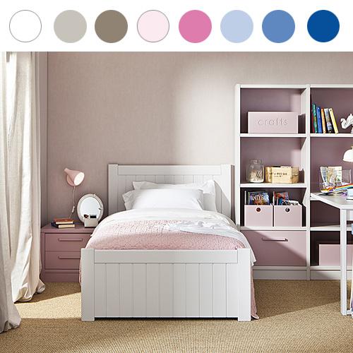 Asoral Jugendbett / Kinderbett NIDO BAHIA, Massivholz, 20 Farben ...