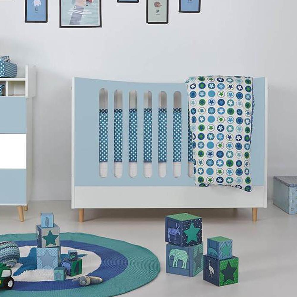 babybett gitterbett vivien 70x140cm umbaubar zum juniorbett dannenfelser kinderm bel. Black Bedroom Furniture Sets. Home Design Ideas