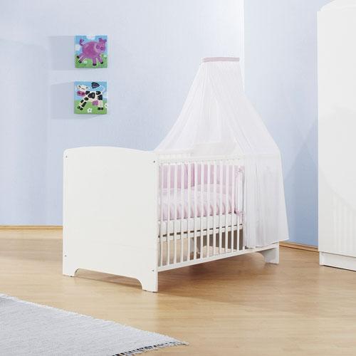 babybett juniorbett jil wei wandelbar 70x140cm dannenfelser. Black Bedroom Furniture Sets. Home Design Ideas