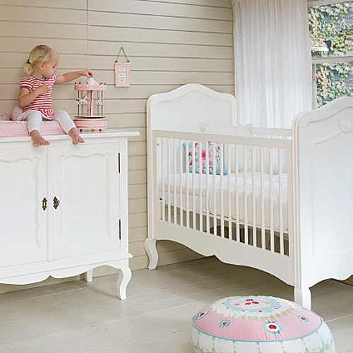 opsetims babybett gitterbett bambini massivholz umbaubar wei g nstig online kaufen. Black Bedroom Furniture Sets. Home Design Ideas