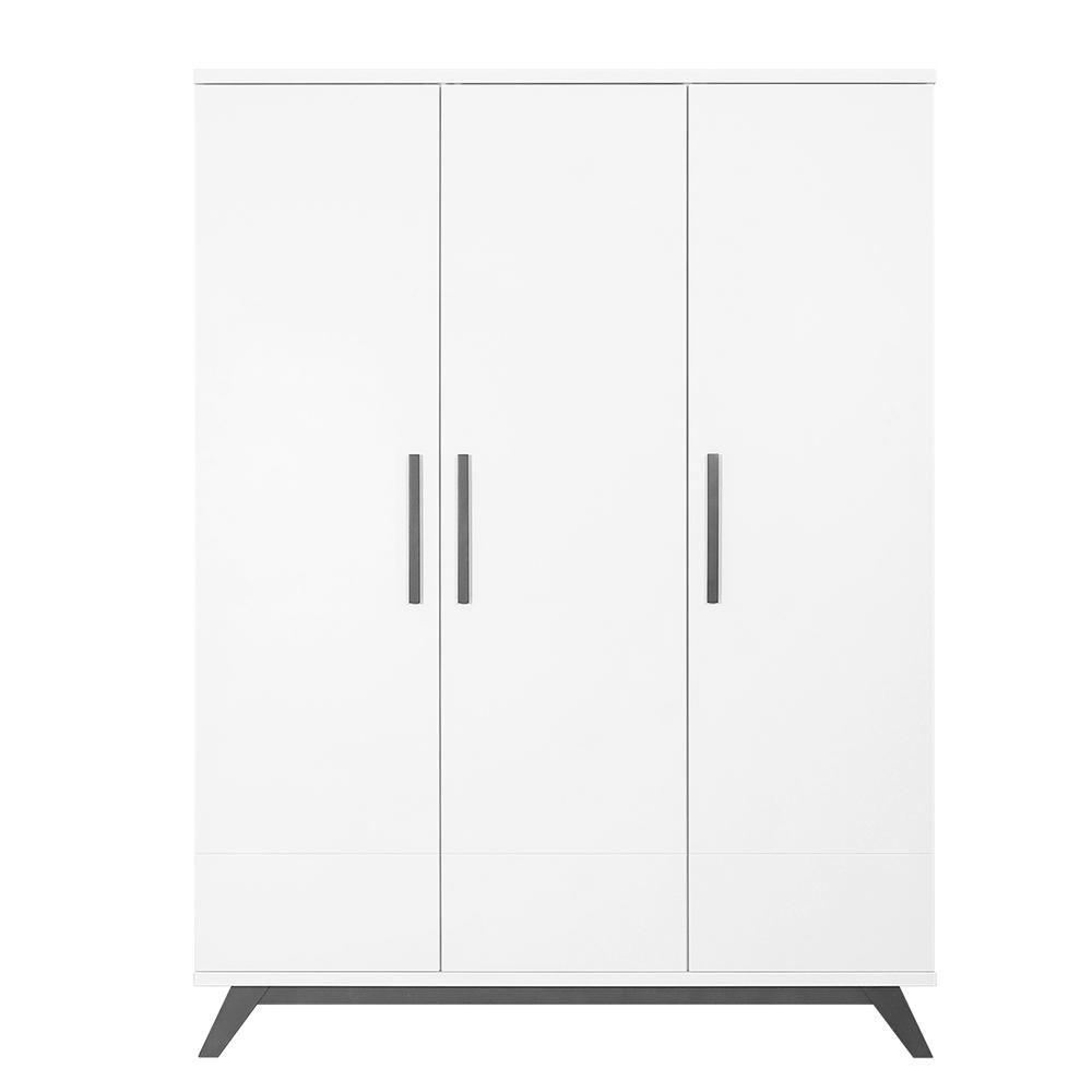 bopita kleiderschrank levi 3 t rig wei grey wash dannenfelser kinderm bel. Black Bedroom Furniture Sets. Home Design Ideas