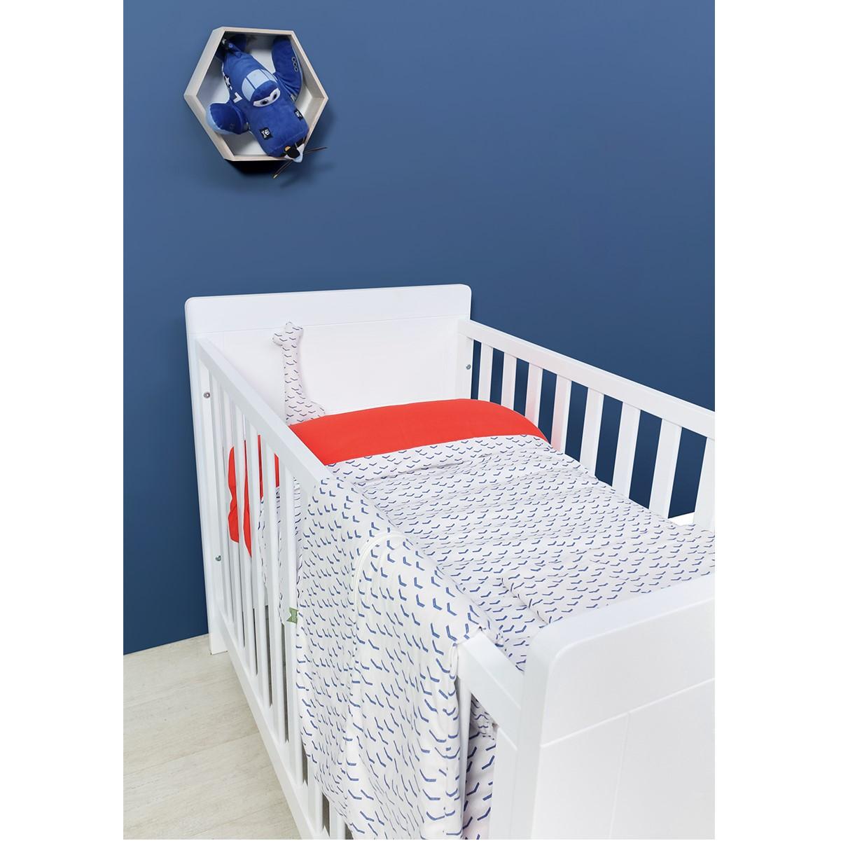 bopita babybett hugo kombi umbaubett wei 60x120 90x200 dannenfelser kinderm bel. Black Bedroom Furniture Sets. Home Design Ideas