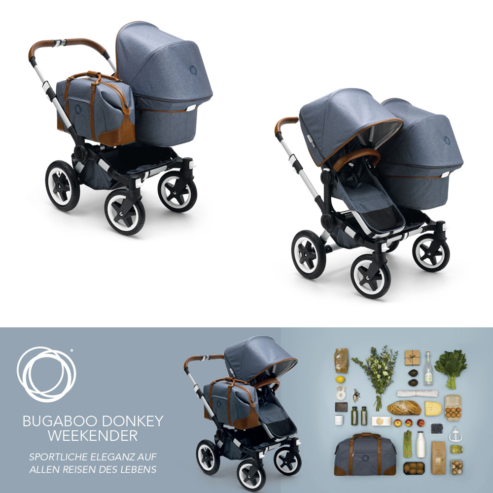 bugaboo kinderwagen donkey weekender special edition g nstig online kaufen dannenfelser. Black Bedroom Furniture Sets. Home Design Ideas