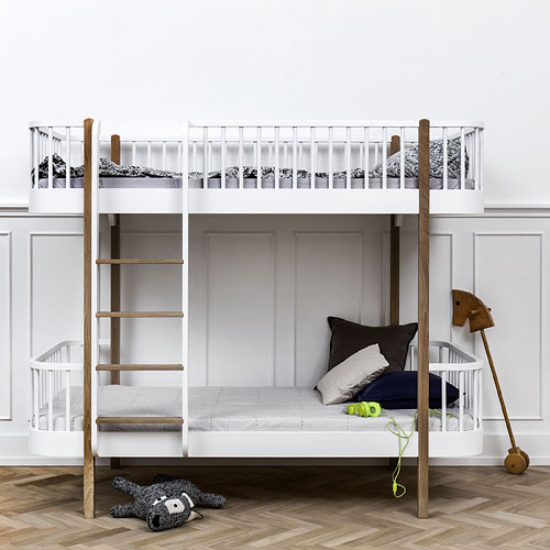 oliver furniture etagenbett wood collection 90x200cm h he 176cm dannenfelser kinderm bel. Black Bedroom Furniture Sets. Home Design Ideas
