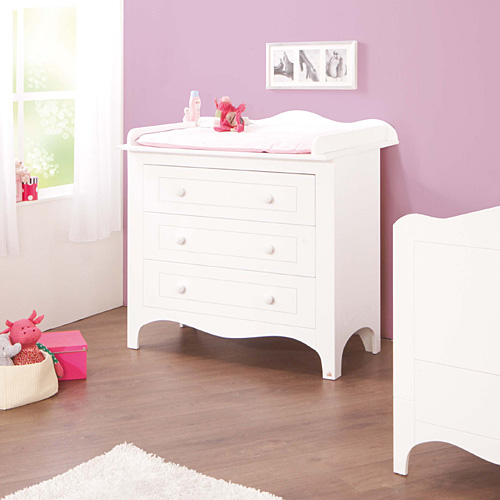 wickelkommode kommode fleur breit wei edelmatt dannenfelser kinderm bel. Black Bedroom Furniture Sets. Home Design Ideas