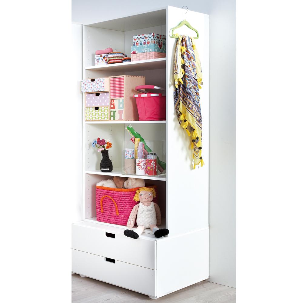 regalsystem mit kommode frieda wei lackiert holz regal kommode dannenfelser kinderm bel. Black Bedroom Furniture Sets. Home Design Ideas