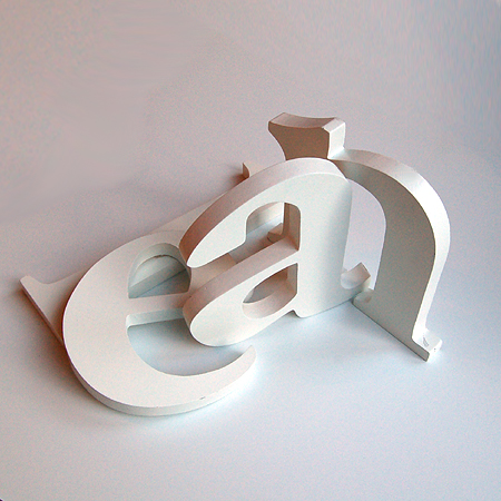 Kinderzimmer ABC Holzbuchstaben / Alphabet / Buchstabe ...