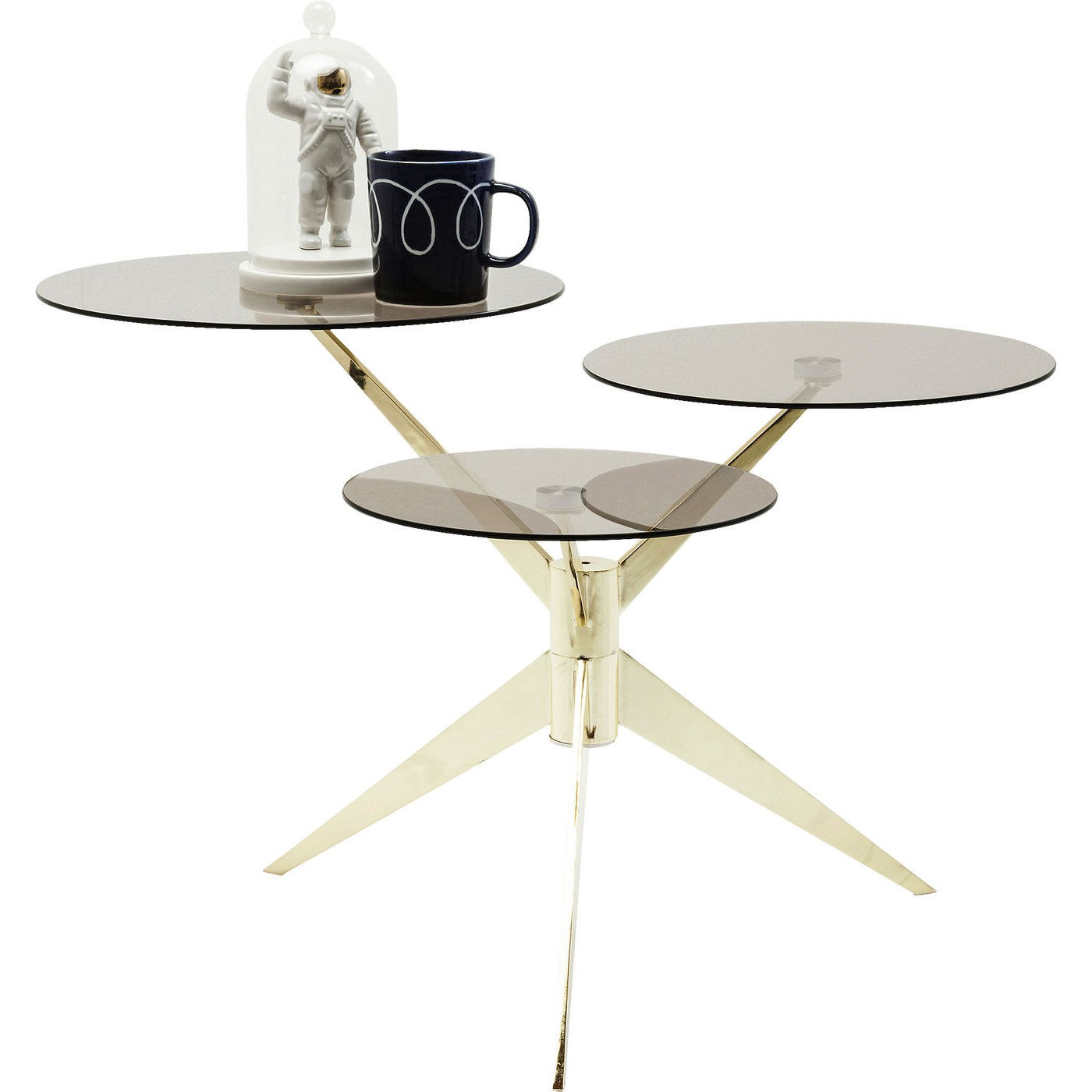 Kare design beistelltisch bonsai 3 tischplatten for Designer tischplatten