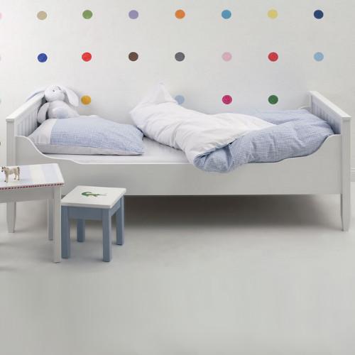 kinderbett isle of dogs massivholz 90x200cm g nstig. Black Bedroom Furniture Sets. Home Design Ideas