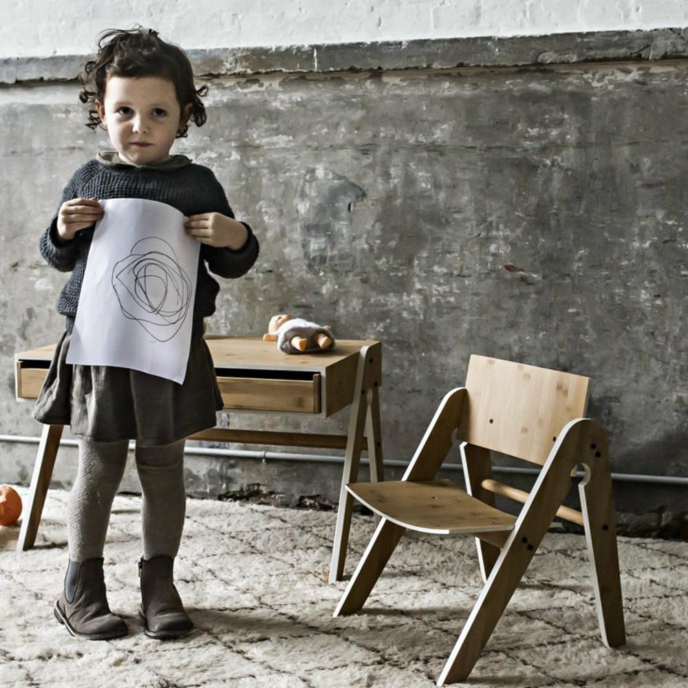 we do wood kinderstuhl stuhl lilly bambus holz natur. Black Bedroom Furniture Sets. Home Design Ideas