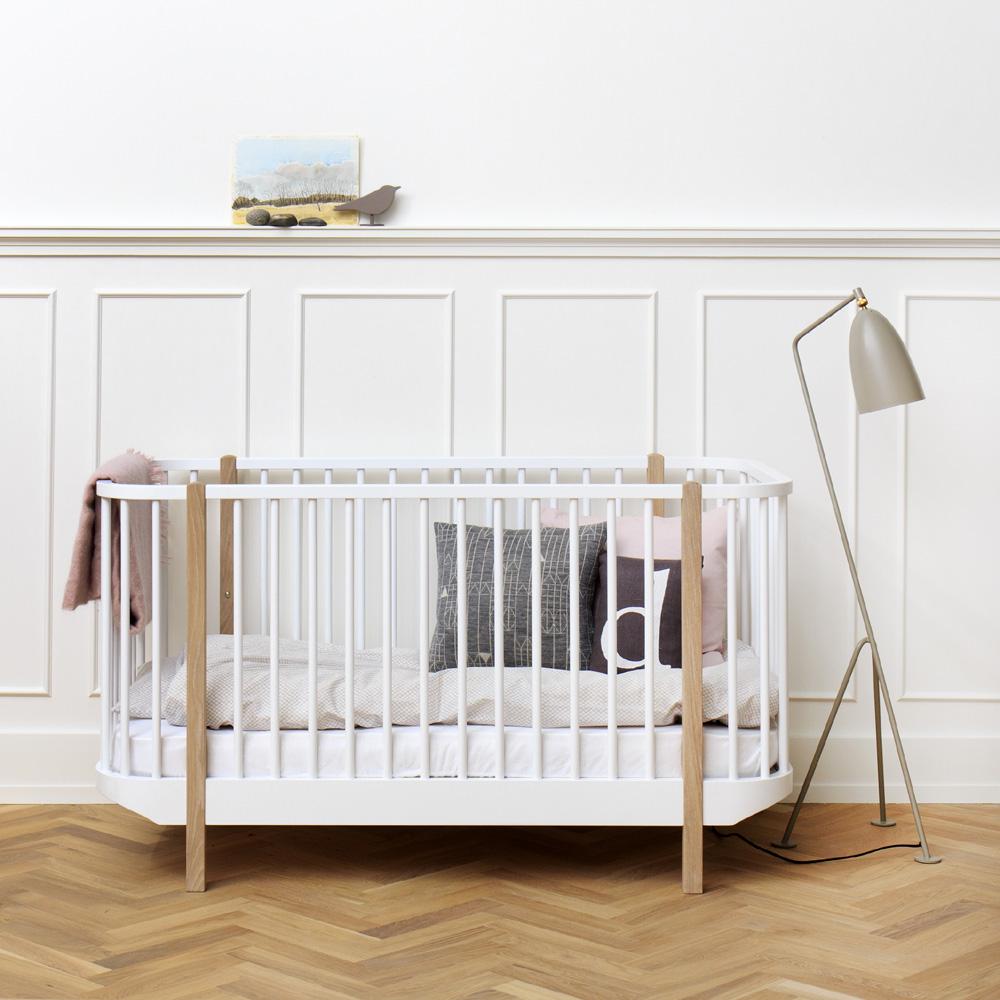 Oliver furniture babybett / gitterbett / kinderbett wood ...