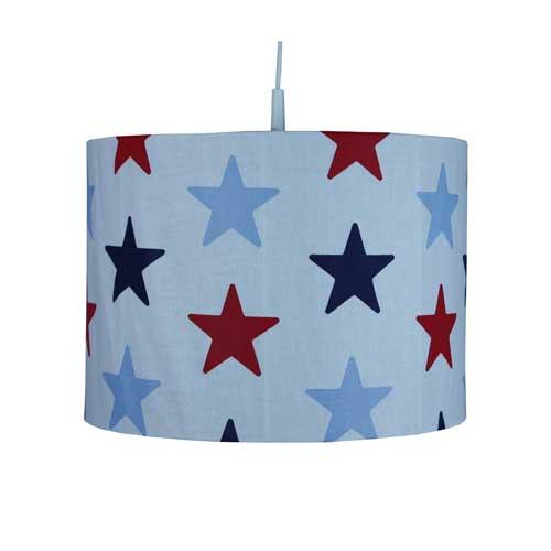Kinderzimmerlampe / Hängelampe STAR NAVY, Durchmesser 35cm ... | {Kinderzimmerlampe 25}