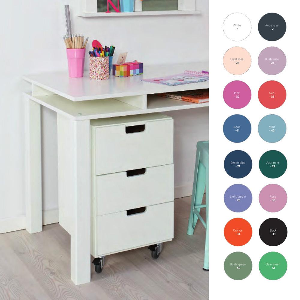 Ungiftige Farben Für Kindermöbel : rollcontainer schreibtischrollcontainer manis h ~ Whattoseeinmadrid.com Haus und Dekorationen