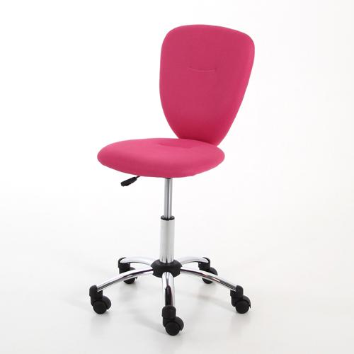 Kinder-Schreibtischstuhl PEGGY, pink, höhenverstellbar | Dannenfelser