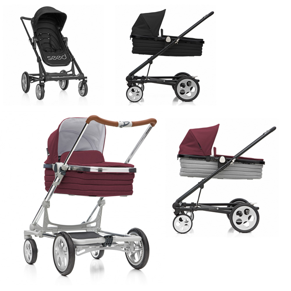 seed papilio buggy kinderwagen mit babywanne ab der. Black Bedroom Furniture Sets. Home Design Ideas